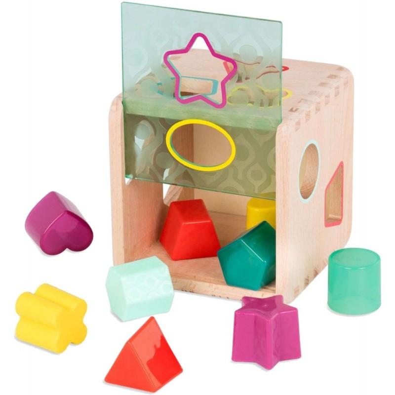 B.Toys Sorter kształtów i kolorów Wonder Cube +18 mc   Dadum Kraków