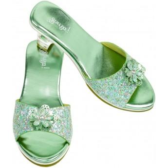 Buty na obcasie dla dzieci 30-31 Pippa Mint z brokatem, Souza!