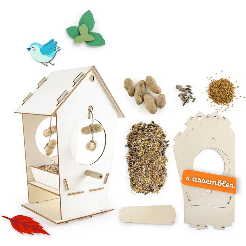 Karmik do zrobienia dla ptaków z nasionami zestaw dla dzieci | Dadum