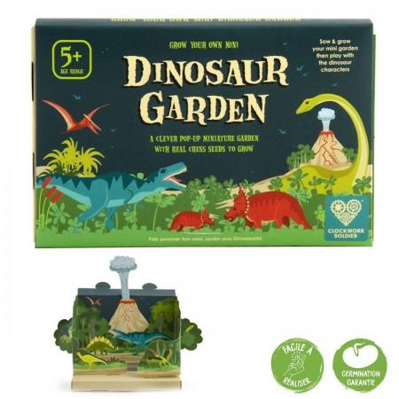 Magiczny Ogródek Dinozaurów zestaw do uprawy roślin   Dadum