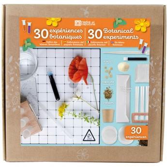 Zestaw do wykonania 30 eksperymentów botanicznych dla dzieci +8 | Dadum