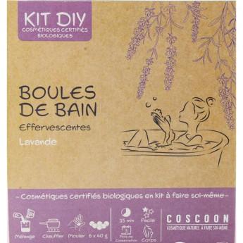 Kule do kąpieli Lawendowe musujące do robienia, Coscoon | Dadum