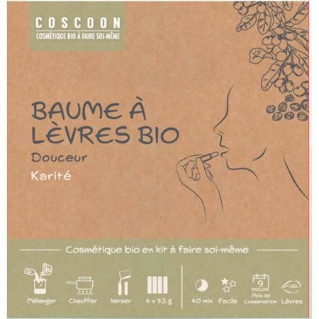 Balsamy do ust Masło Shea zestaw DIY do robienia, Coscoon | Dadum