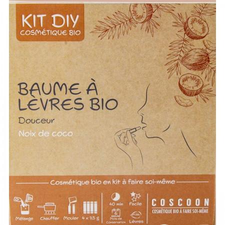 Balsamy do ust Kokosowe zestaw DIY do robienia, Coscoon   Dadum