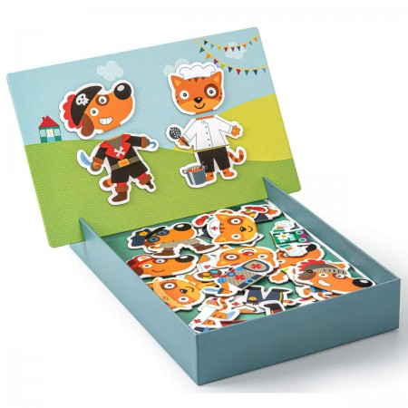 Apli Kids Magnetyczna układanka Postacie dla dzieci +3