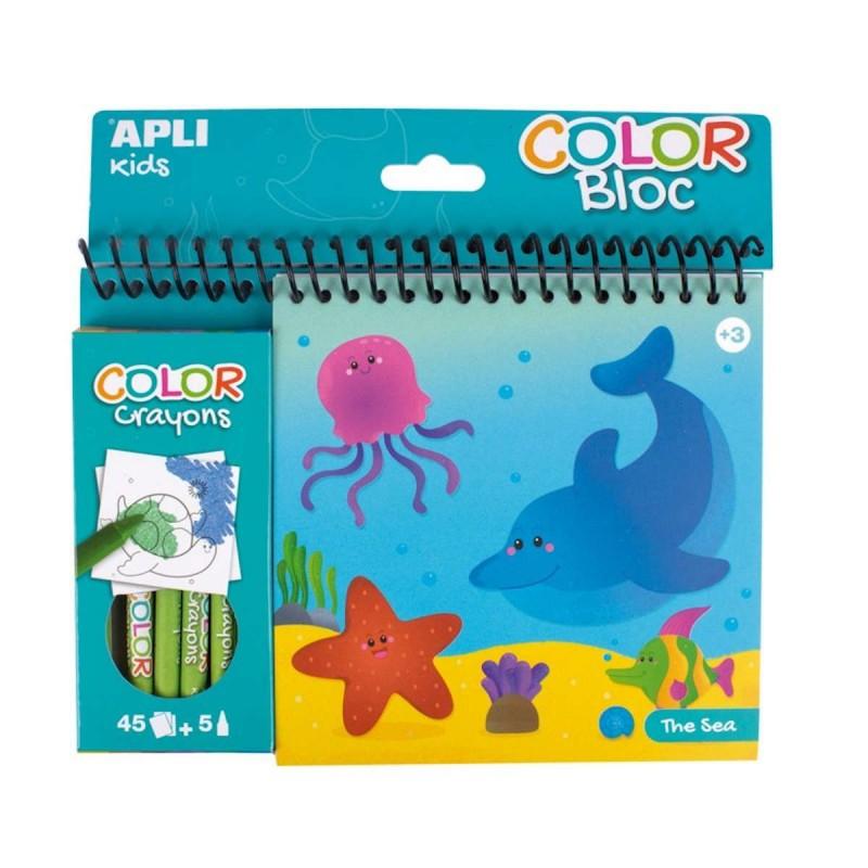 Apli Kids Kolorowanka wodna Ocean dla dzieci