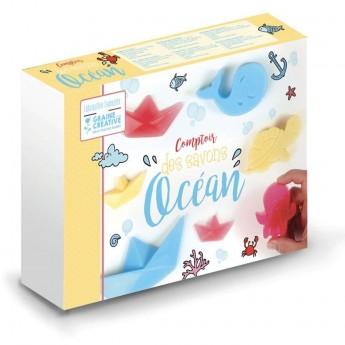 Mydełka Ocean zestaw plastyczny +3 Graine Creative   Dadum Kraków