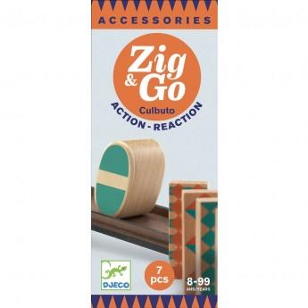Djeco Zestaw Zig & Go 7 elementów zabawka edukacyjna +8 | Dadum Kraków