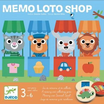 Djeco Memo Lotto Sklep gra planszowa dla dzieci +3