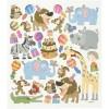 Zwierzaczki Urodzinowe naklejki ozdobne dla dzieci, Creotime +3