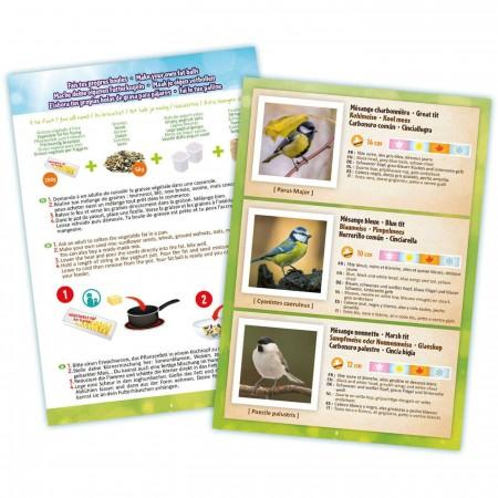 Buki Obserwatorium ptaków: karmnik, lornetka i gwizdek