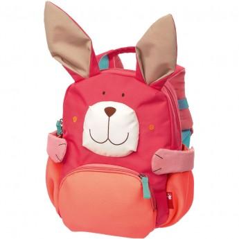 Sigikid plecak Zajączek różowy dla dzieci od 2 do 5 lat