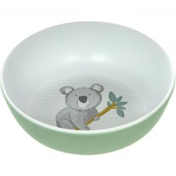 Sigikid Miseczka dla dziecka Miś Koala miętowa z melaminy | Dadum
