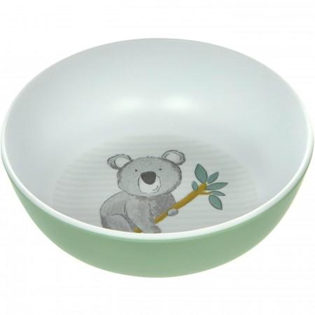 Sigikid Miseczka dla dziecka Miś Koala miętowa z melaminy   Dadum