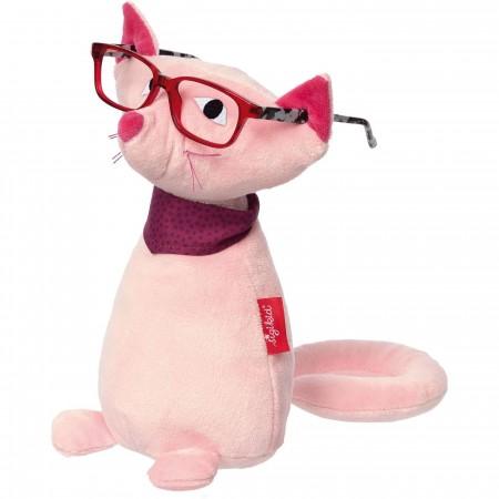 Sigikid Kot pluszowy w okularach +12 mc