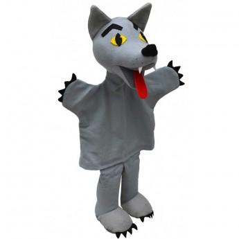 Pacynka na rękę Wilk do teatrzyku dla dzieci +3 | Dadum