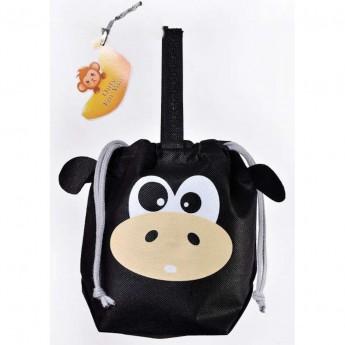 Małpka torebka i woreczek na prezent 2w1 dla dzieci