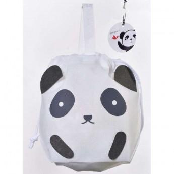 Panda torebka i woreczek na prezent 2w1 dla dzieci