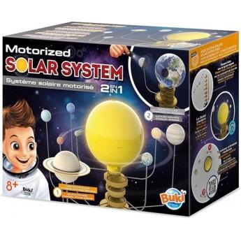 Buki Ruchomy Układ Słoneczny z lampką nocną +8