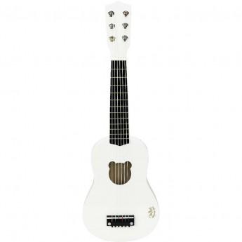 Vilac Gitara Biała zabawka drewniana muzyczna dla dzieci +3