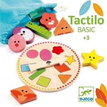 Djeco Tactilo Basic gra sensoryczna drewniana od 3 lat
