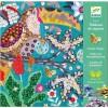Djeco Obrazy z cekinami Rajskie Ptaki dla dzieci +8