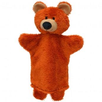 Pacynka pluszowa na rękę Niedźwiedź dla niemowląt +0 | Dadum