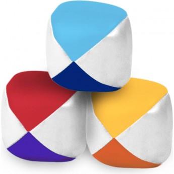Vilac 3 skórzane piłki do żonglowania dla dzieci od 5 lat