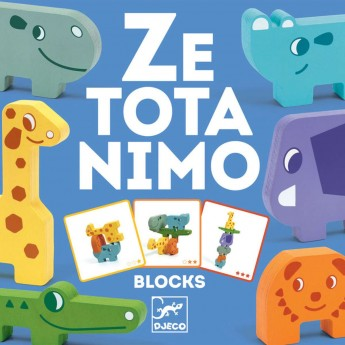 Djeco Ze Totanimo gra balans zręcznościowa drewniana +3
