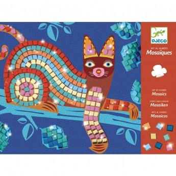 Djeco Mozaika piankowa błyszcząca Oaxacan dla dzieci +4