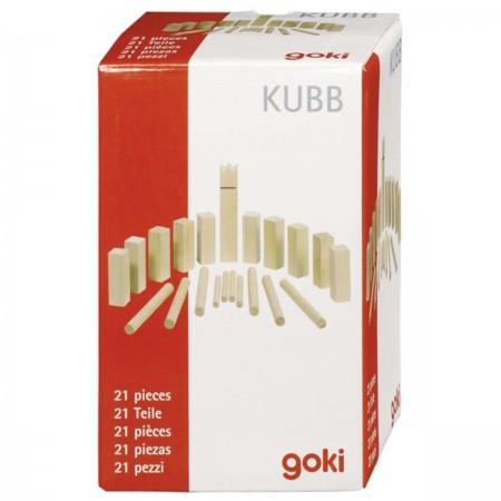Goki Mini Kubb gra zręcznościowa dla dzieci od 5 lat   Dadum Kraków