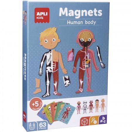 Apli KIds Magnetyczna układanka Ciało człowieka +5