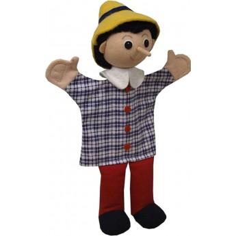 Pacynka na rękę Pinokio do teatrzyku dla dzieci +3 | Dadum
