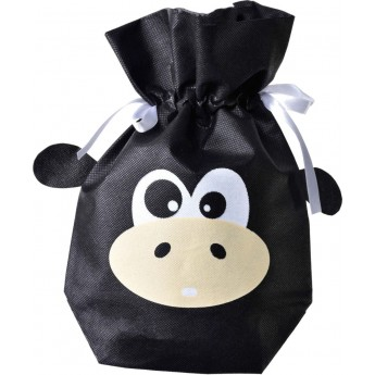 Małpka wiązany woreczek na prezent dla dzieci