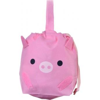 Świnka torebka i woreczek na prezent 2w1 dla dzieci