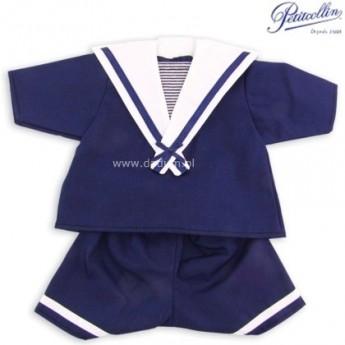 Marynarz ubranko dla lalek 40cm, Petitcollin