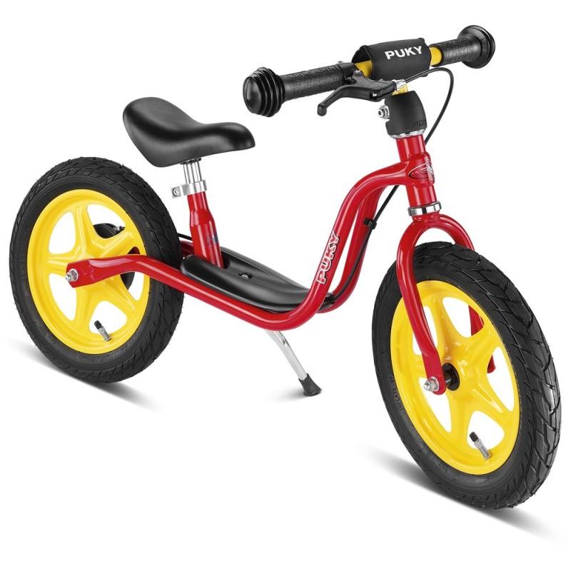 Rowerek biegowy LR 1L Br czerwony 3+ z hamulcami, Puky