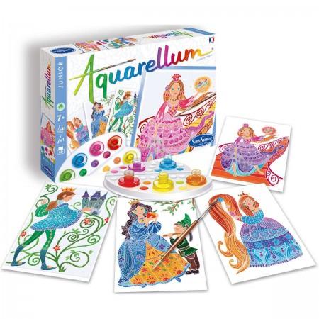 Aquarellum Baśnie Braci Grimm 4 obrazy i farby, SentoSphere