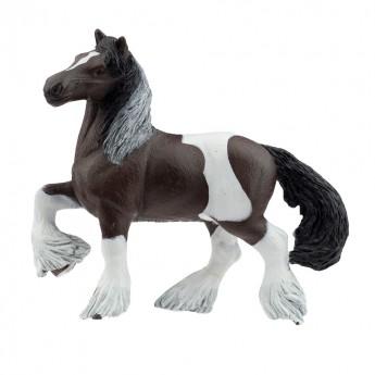Koń Cob Irlandzki Bay łaciaty figurka, Papo