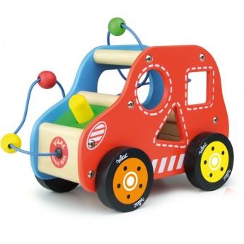 Pętla motoryczna dla dzieci Brum autko labirynt zręcznościowy, Vilac