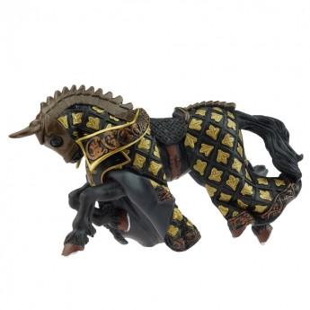 Koń mistrza broni z pióropuszem Byk, Papo