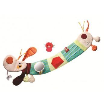 Zabawka do kojca Pies Jeff dla niemowląt, Lilliputiens