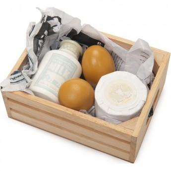 Jajka, mleko i ser w skrzynce, Le Toy Van