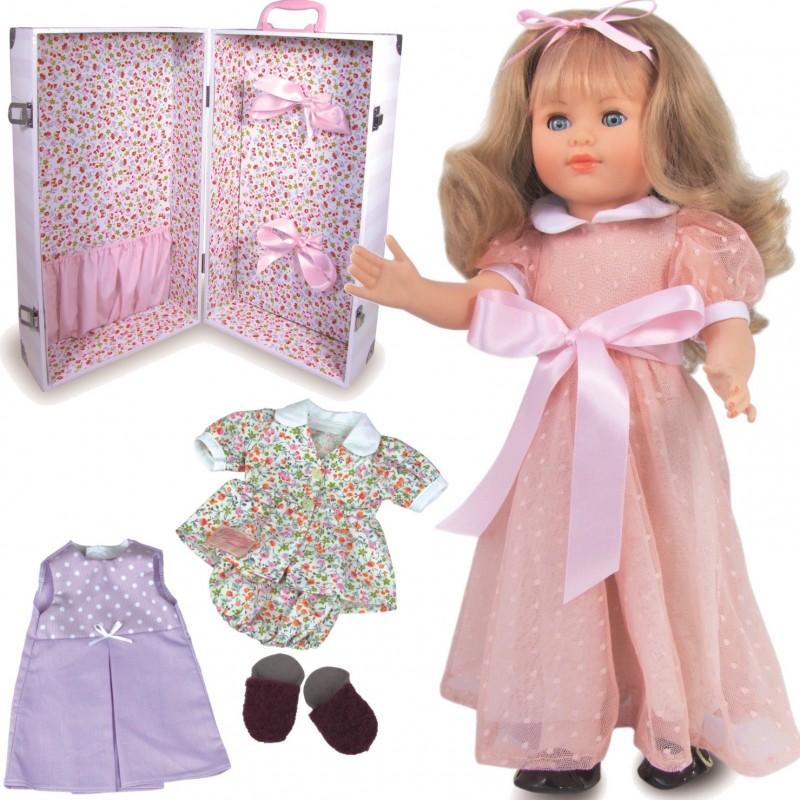 Lalka dla dzieci Marie-Francoise 40cm Modelka z akcesoriami, Petitcollin