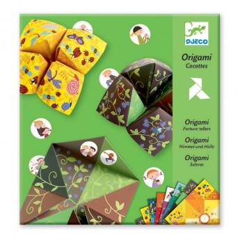 Origami Ptaki dla 7 latków -Design by Marianne Dupuy-Sauze, Djeco