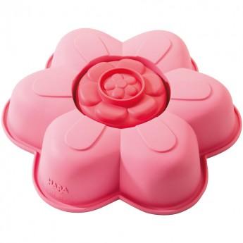 Silikonowe formy do ciast Kwiat, Haba