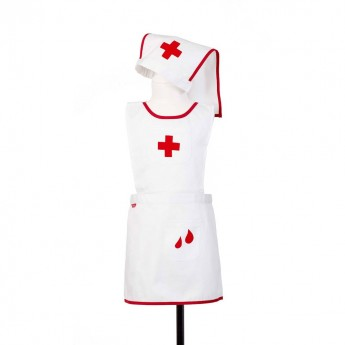 Strój pielęgniarki przebranie dla dzieci 4-7 lat, Souza!