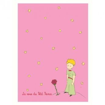 Zeszyt różowy Mały Książę, 48 stron w linie, Petit Jour
