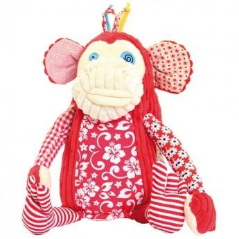 Małpka Bogos Original 27cm przytulanka, Les Deglingos