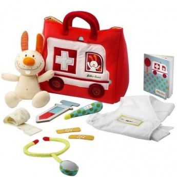 Zabawka Lekarz Królika dla niemowląt, Lilliputiens